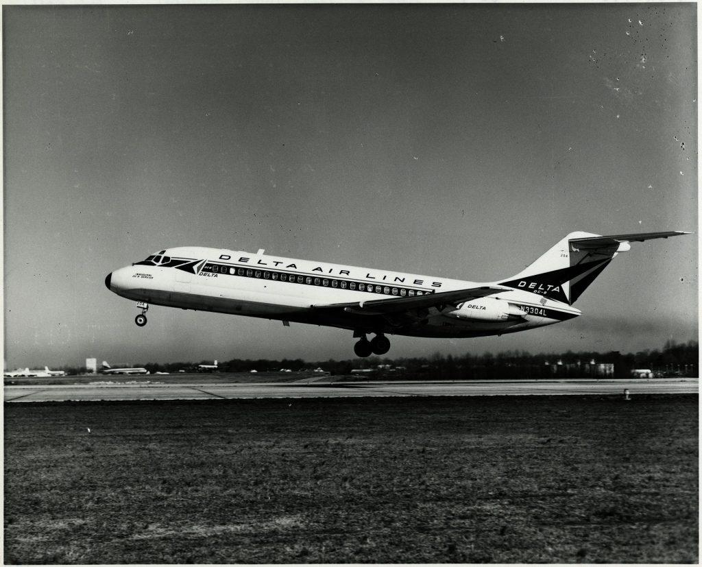 Самолет Douglas DC-9