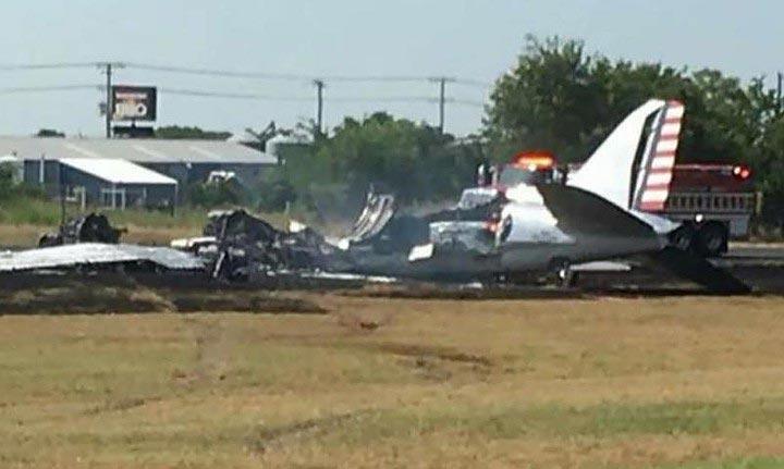 авиакатастрофа в техасе