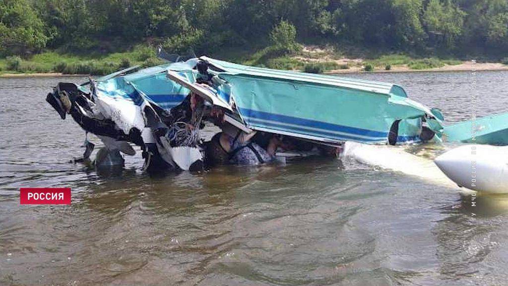 падение самолета 27 июля 2019 в Подмосковье