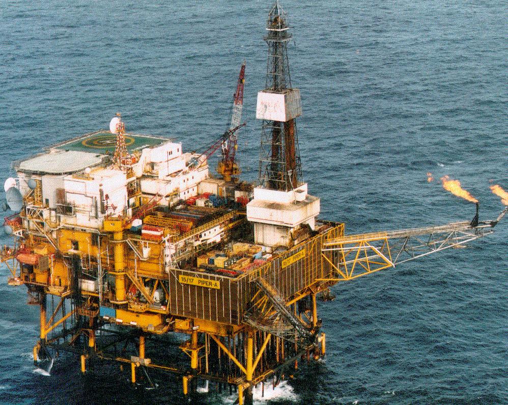 Взрыв в Северном море