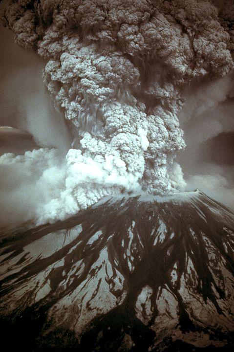 Извержение Сент-Хеленс