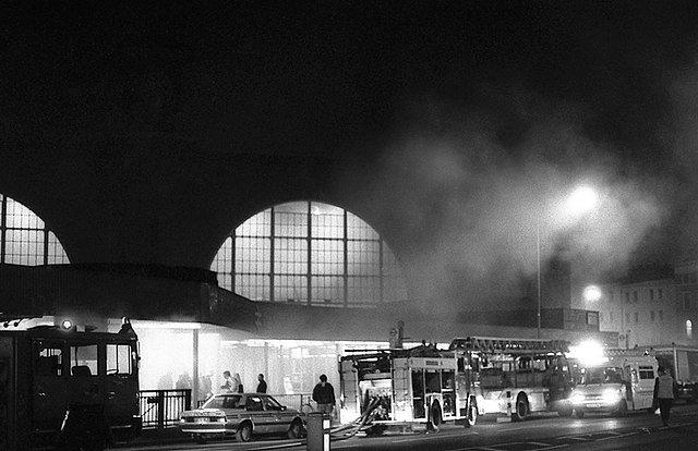 пожар в лондонском метро 1987