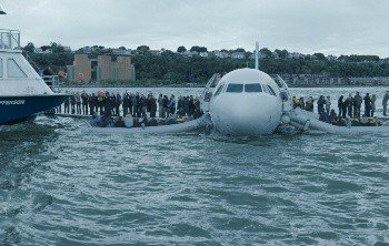 Приводнение самолета, спасение пассажиров