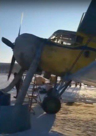 Падение Ан-2