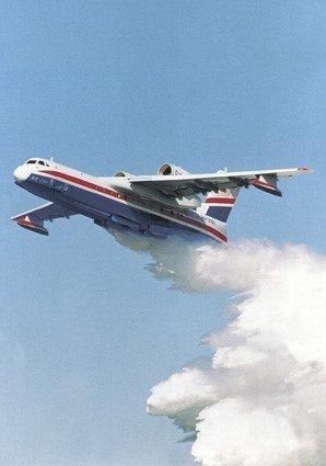 Бе-200 самолет
